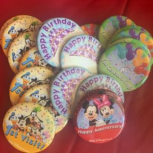Disney Parks Commemorative Pins